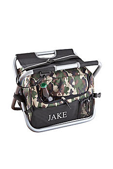 Personalized Deluxe Camouflage Sit n Sip Cooler GC1102