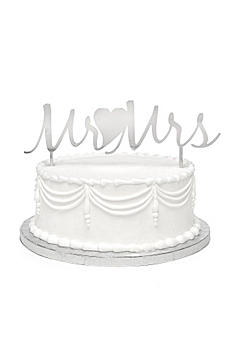 Mr. and Mrs. Metal Cake Pick DBK33260
