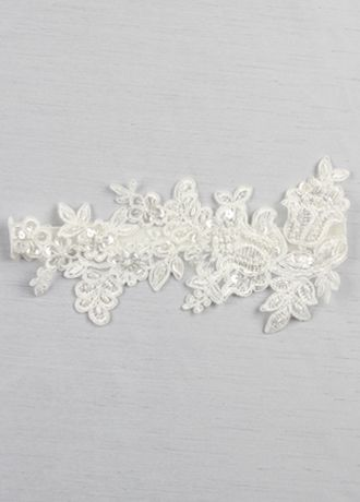 Sea of petals bridal garter davids bridal ivory sea of petals bridal garter junglespirit Gallery