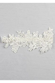 Sea of Petals Bridal Garter DB94BG