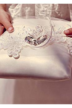 sea of petals ring bearer pillow db94rp - Wedding Ring Pillow
