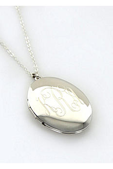 Personalized Oval Locket LC20