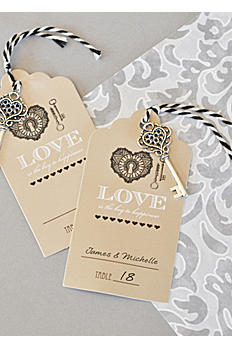 Key to Happiness Escort Card EB2356