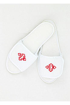 DB Exclusive Personalized Womens Terry Slippers W49WO