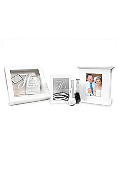 Personalized 3pc Sand Ceremony and Card Box Set S3921