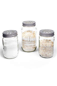 Personalized Mason Jar Sand Ceremony Set