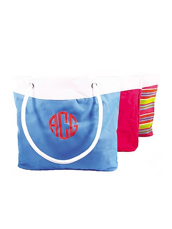 DB Exc Personalized Pool Tote with Rope Handles WH144