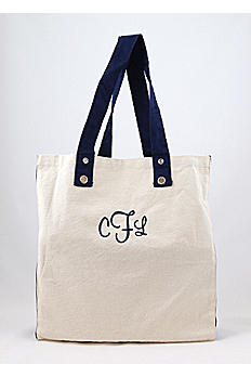 DB Exclusive Personalized Grommet Shopping Tote WH36