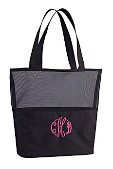 DB Exclusive Personalized Canvas Mesh Tote Bag 411811741