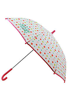 DB Exclusive Personalized Polka Dot Girls Umbrella W108