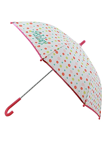 DB Exclusive Personalized Polka Dot Girls Umbrella W108