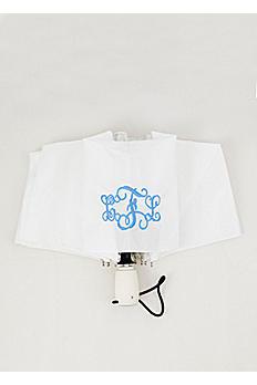 DB Exclusive Personalized White Auto Open Umbrella W69