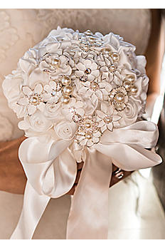 Couture Brooch Bridal Bouquet 9552