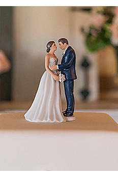 Personalized Vintage Style Cake Topper 9696