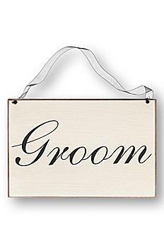 Groom Chair Sign CS6431