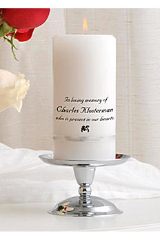 Personalized Memorial Candle Set GC314