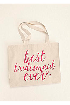 Best Bridesmaid Ever Tote Bag BESTBMTOTE