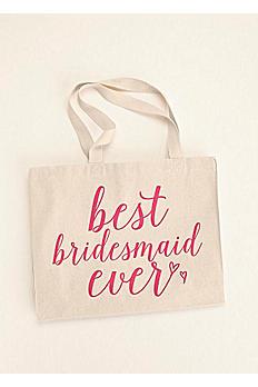 Best Bridesmaid Ever Tote Bag BESTBMTOTE