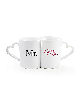 Mr. and Mrs. Coffee Mug Set MM3600