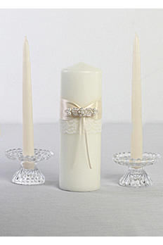 DB Exclusive Lace Elegance Unity Candle Set DB83PC