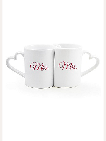 Mrs. and Mrs. Coffee Mug Set MRS3600
