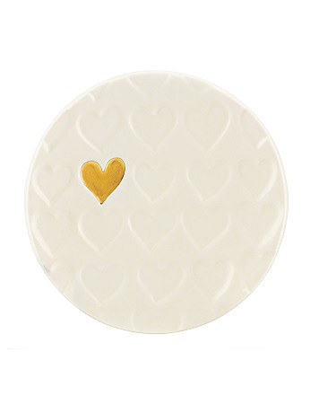Lenox Gold Rush Heart Dish 852446