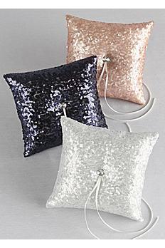 Sequin Ring Bearer Pillow DB01270RP