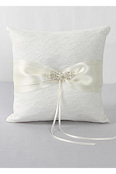 DB Exclusive Lace Elegance Ring Bearer Pillow DB83RP