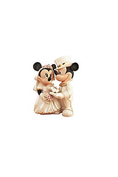 Lenox Disney Minnie's Dream Wedding Cake Topper 6130785