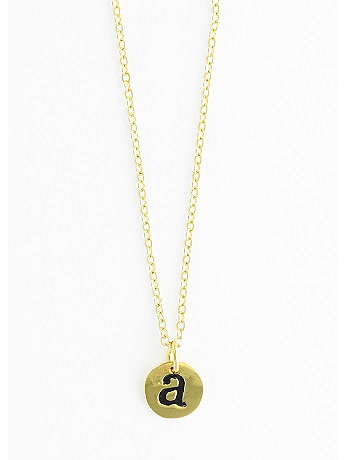 Personalized Initial Gold-Plated Necklace CN262-514