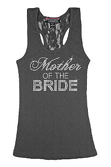 Mother of the Bride Big Bling Lace Tank