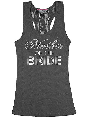 Mother of the Bride Big Bling Lace Tank BIGBLINGLACEMOB