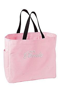 Rhinestone Bride Tote Bag TOTE0750-BR