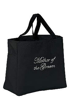 Rhinestone Mother of the Groom Tote Bag