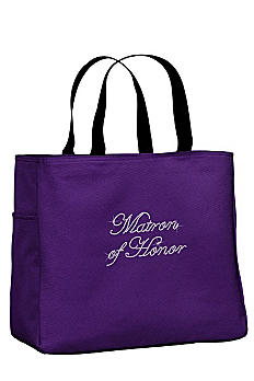 Rhinestone Matron of Honor Tote Bag TOTE0750-MAT
