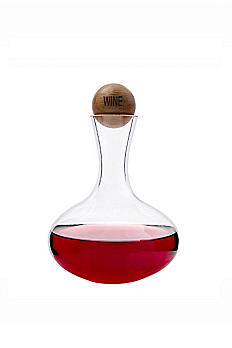 Personalized Wine Decanter with Wood Stopper 2221BN