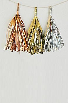 Metallic Mini Tassels Set of 6 EB3087