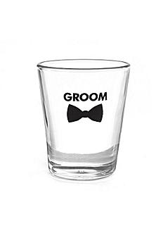 Groom Bow Tie Wedding Party Shot Glasses DBK38840