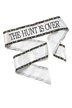 The Hunt is Over Sash DBK35417