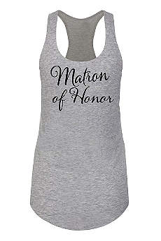 Matron of Honor Racerback Tank Top