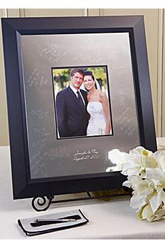 Personalized Signature Frame with Beveled Frame SKBV