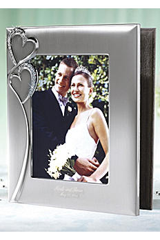 Personalized Twin Hearts Photo Album 4167-0203