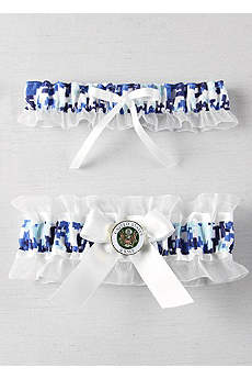 Military Collection Digital Camouflage Garter Set
