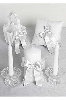 Excl Simply Chic 3pc Basket, Pillow and Candle Set DB35PK3