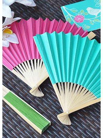 Colored Paper Fans EB2121