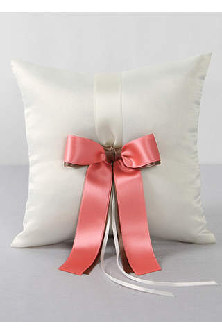 db exclusive double ribbon ring pillow - Wedding Ring Pillow
