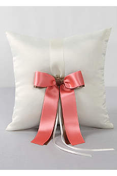 DB Exclusive Double Ribbon Ring Pillow