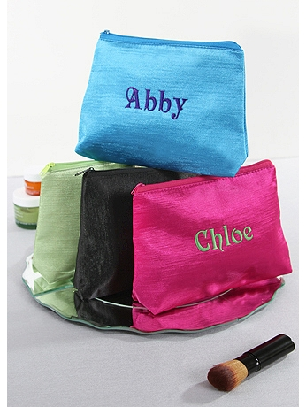 Personalized Custom Embroidered Cosmetic Bag 50-2441