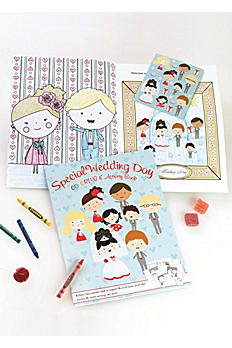 Wedding Day Coloring and Activity Book DB15CB