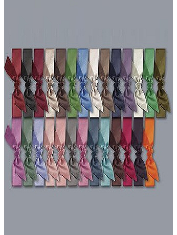 Exclusive 1-Inch Satin Pre-Cut Ribbons Pack of 25 DB45PK